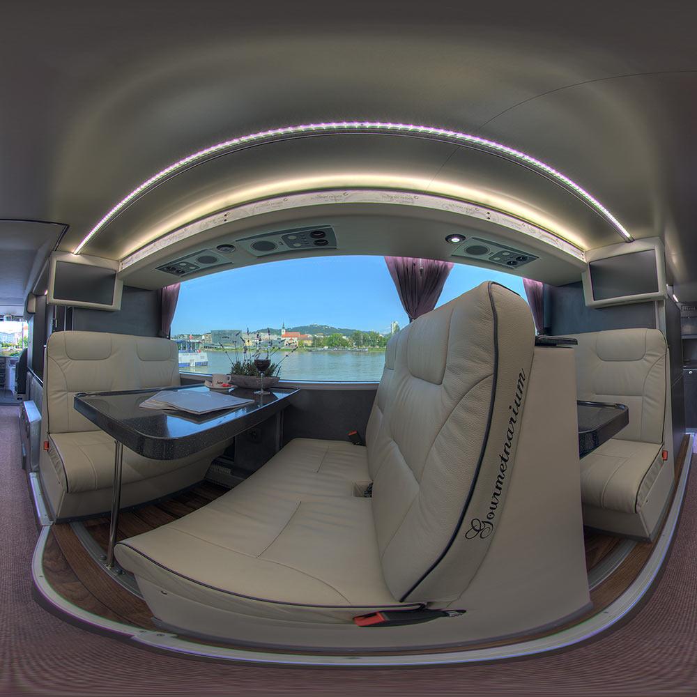 360 Grad Panorama Busunternehmen Autobus Autos Fahrzeuge virtuelle Tour