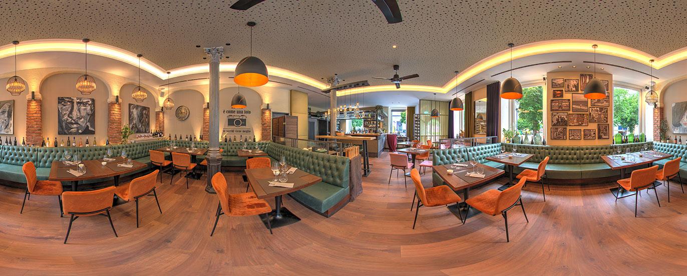 panoramen 360 Rundgang Restaurant